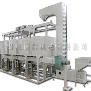 The decorticating and separating equipment for mung beans(TFD600)