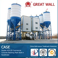 China Well-known Trademark HZS120 Concrete Batching Plant
