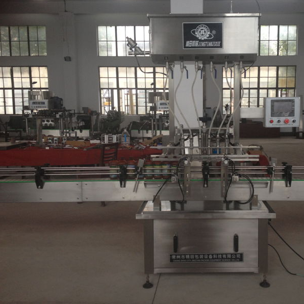 Automatic Inline Servo Liquid Filling Machine