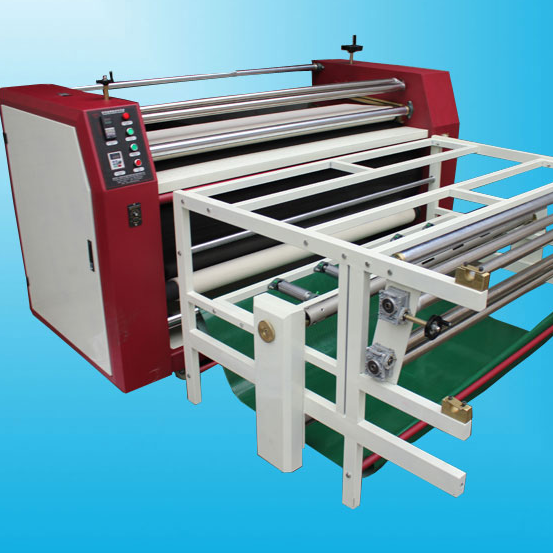 Roller Heat Press Machine For Roll Material And Sheet Material