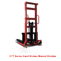 1.5 ton manual stacker, hand stacker