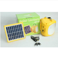 4.5Ah portable DC solar LED home light kit with adaper