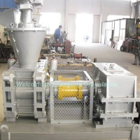 Chemical briquettes making machine