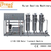 1T/H Beverages raw water production machine