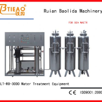 3T/H Water treatment machine for water river,ground