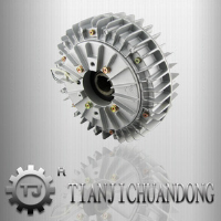 Factory hot selling TJ series industrial magnetic powder brake
