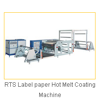 RTS Label paper Hot Melt Coating Machine