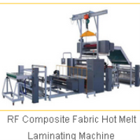 RF Composite Fabric Hot Melt Laminating Machine