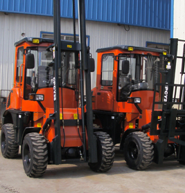 2.8T Rough Terrain Forklift