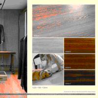 8mm hardwood flooring with german technology synchronized finish oak series