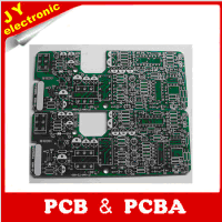 two layer 1OZ copper leadfree HASL green printed circuit board