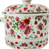 The original enamel pot / PAN / enamel pot / soup pot heightening thickening enamel pot 24-26cm