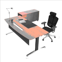 Modern Executive Desk Office Table Design L-shaped Office Desk