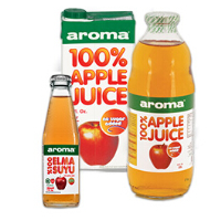 Aroma100% Apple Juice