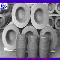 graphite electrode for arc furnace with nipples