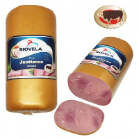 Cooked beef ham
