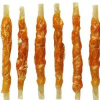 Chicken jerky dog snacks