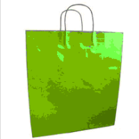 recycled paper bag dubai