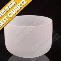 Opaque quartz crucible