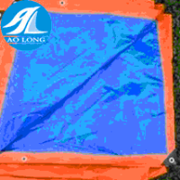 150gsm Blue and Orange waterproof pe tarpaulin sheet