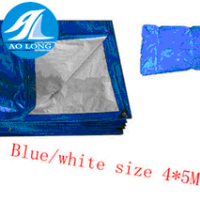 Size :4x5M ldpe hdpe sheets & waterproof pe tarpaulin sheet