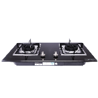 Glass cooktop gas stove
