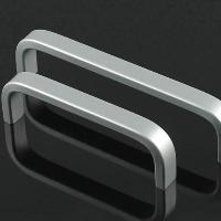 Aluminium die casting pull handle