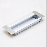 aluminium rectangular recessed pull handle