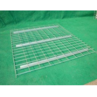 U- support wire mesh decking zinc plating