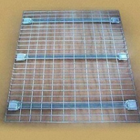 sell wire mesh decking for pallet rack