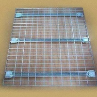 Stainless Steel Wire Mesh Storage Container L-3