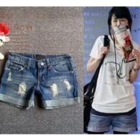 2014 china new Denim Shorts Women Fashion Ladies Jean Shorts,Denim Pants with Casual Short