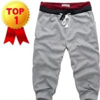 2014 china wholesale supplier Men Casual Sports Shorts/ loose male trousers/Harem shorts,4 Color,S-XXL, garment pants stock lot