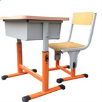 HOT SALE adjustable school desk and chair/cheap school chair and desk China factory