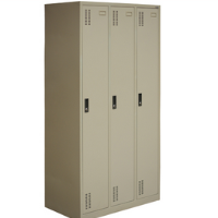 3 door clothing steel locker/wardrobe
