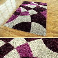 hot-selling shaggy chenille rug