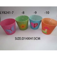 Paper flower pot for bonsai pot, garden planter paper pots for nursery plants