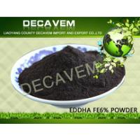 EDDHA FE6%, bulk organic fertilizer, Iron Chelated Micronutrients powder, O:O=3.6(60%): 5.28%