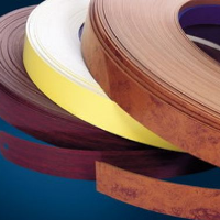width wood and solid color pvc edge banding size 46