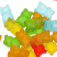Small bear shape gummy