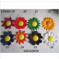 hot wholesale different colors and sizes paper flowers