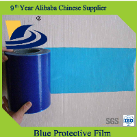 blue protective film for windows