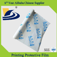 Printing Milky Film for Protecting