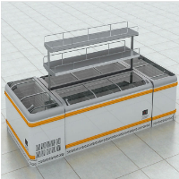 commercial display chest freezer fridge commercial freezer curved freezer island freezer