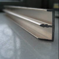 Cheap price China made silver anodized home furniture aluminum extrusion profile manufacturer