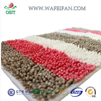 striped chenille entry flooring mat