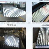 Prepainted corrugated Galvanized sheet