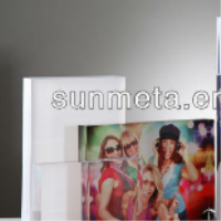 sublimation crystal acrylic photo frame