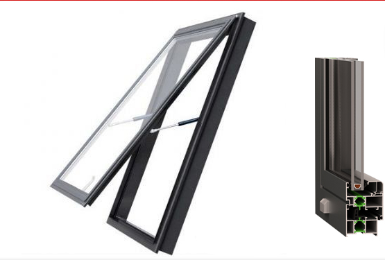 ISO International Certification Standard for Yuhong 63 Series Aluminum Alloy Interior Horizontally Pivoted Hung window