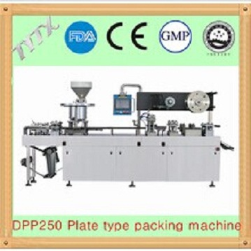 DPP250 Plate type blister packaging machine